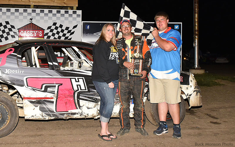 Phil Holtz won the USRA Stock Car feature.